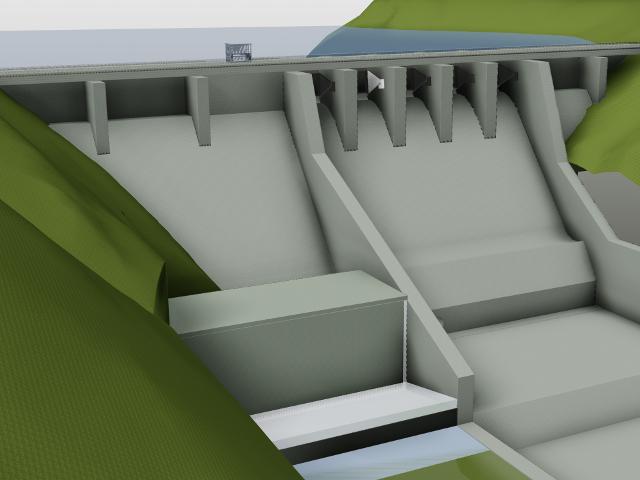 Referenz der Bau + Plan Ingenieurgesellschaft mbH – Nam Chat – Diagramm