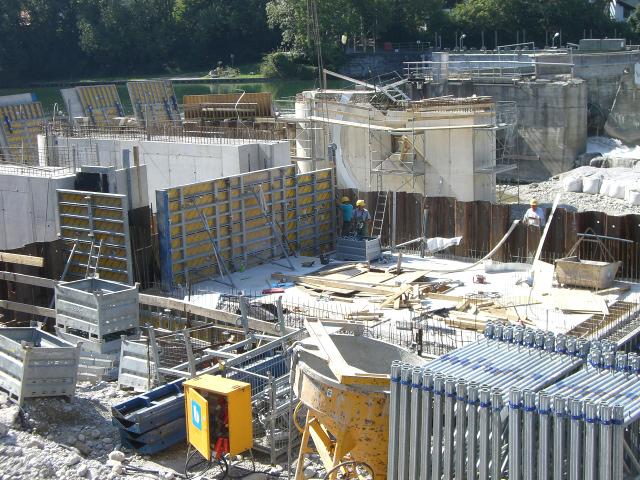 Bau + Plan Ingenieurgesellschaft mbH – Referenz Alzwehr – Baustelle