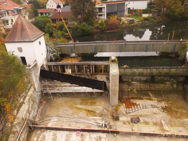 Bau + Plan Ingenieurgesellschaft mbH – Stadtwehr Erding Luftbild