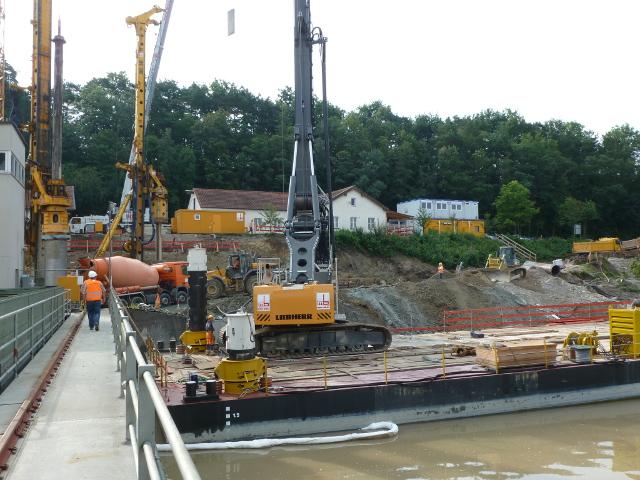 Bau + Plan Ingenieurgesellschaft mbH – Referenz Gars – Pontonarbeiten