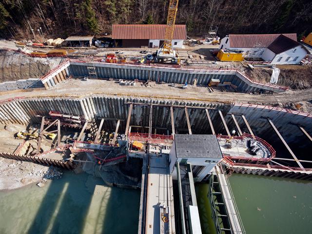 Bau + Plan Ingenieurgesellschaft mbH – Referenz Gars – Baugrube