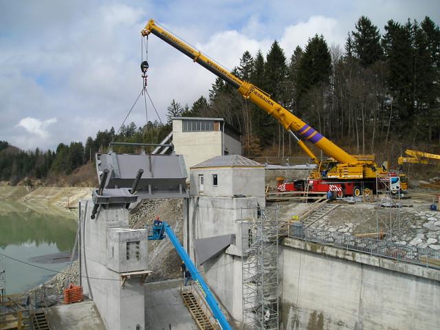 Bau + Plan Ingenieurgesellschaft mbH – Roßhaupten Einbau Segment