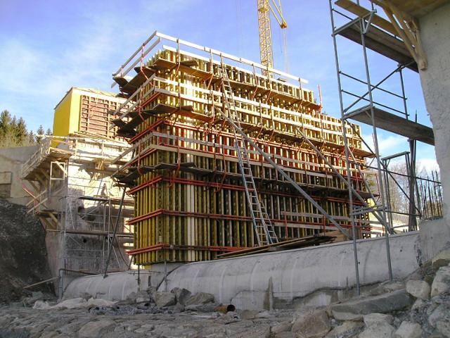 Bau + Plan Ingenieurgesellschaft mbH – Roßhaupten Schalung Pfeiler